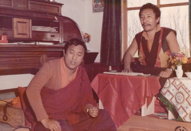 With Achyaria Tenpa Negi